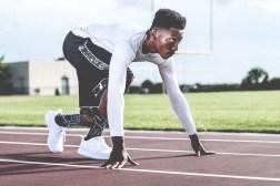 piriformis syndrome black man about to run