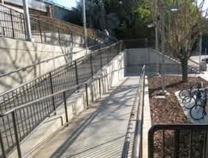 Empty ramp