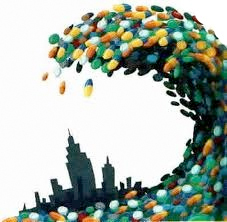 "Illustration for the article, ""Psychiatric Drugs are the Agents of Trauma"" by by Charles L. Whitfield, MD.  http://bit.ly/1fDXDvw"