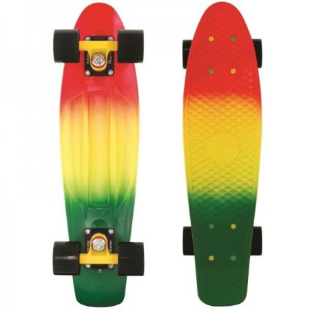 Penny Fades Rasta Skateboard
