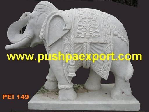 We manufacture Elephant Statue in stone.