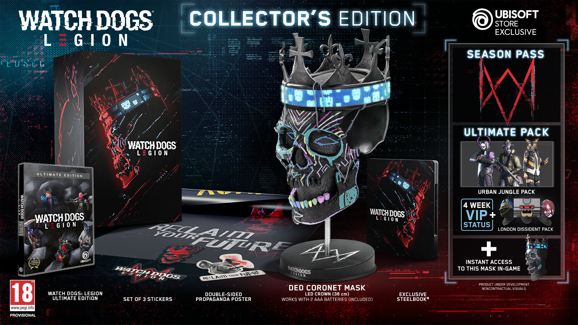 Here S A New Look At Watch Dogs Legion And Collector S Edition Detailed Ubisoftforward Pushstartplay