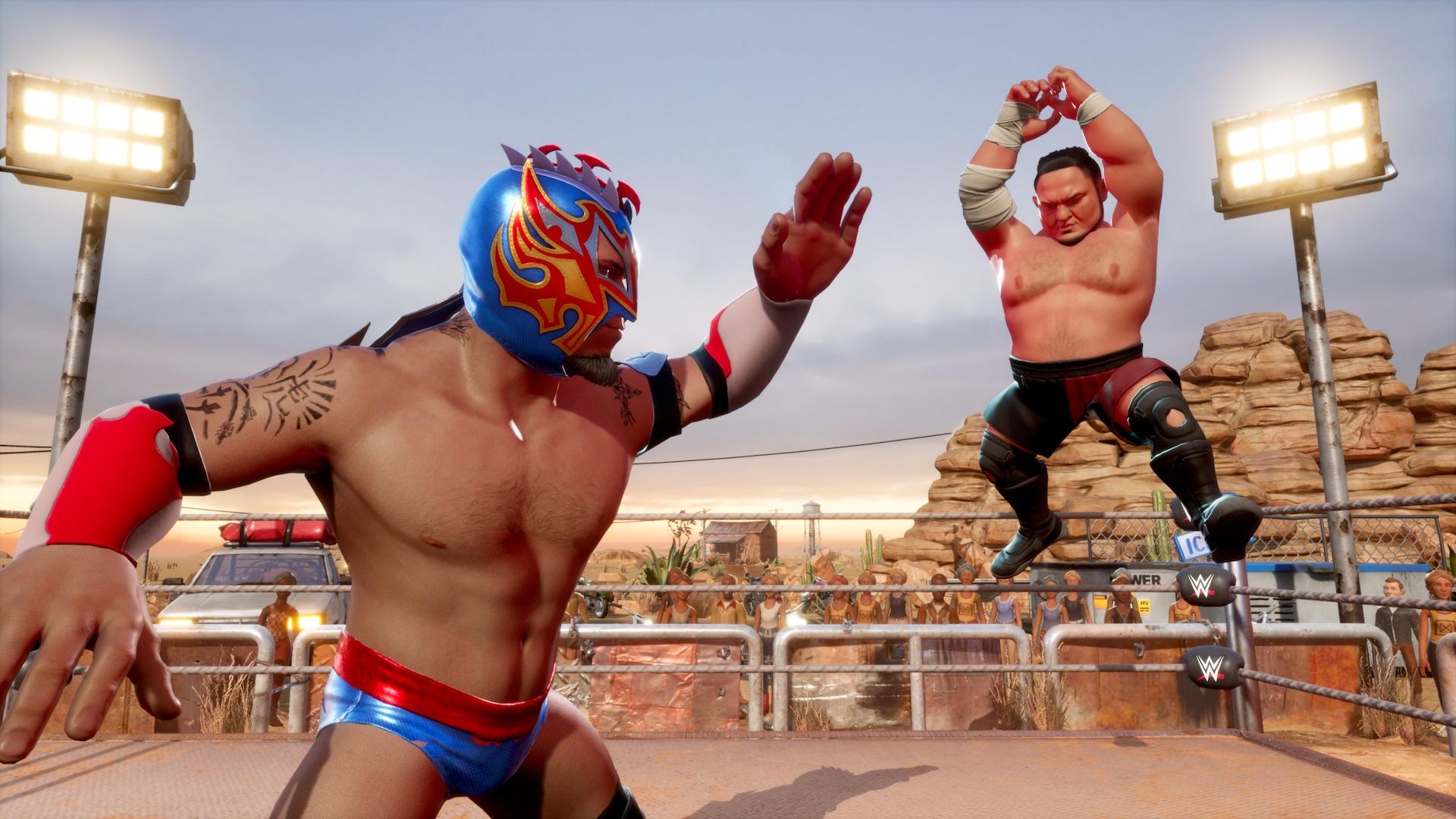 Here's a New WWE 2K Battlegrounds Gameplay Trailer from #NintendoDirect |  PushStartPlay