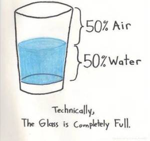 The Glass is FULL