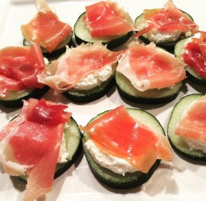 cucumber prosciutto