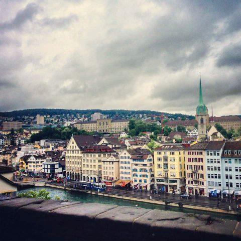 Her İsviçreli gibi nazikti Zürih
