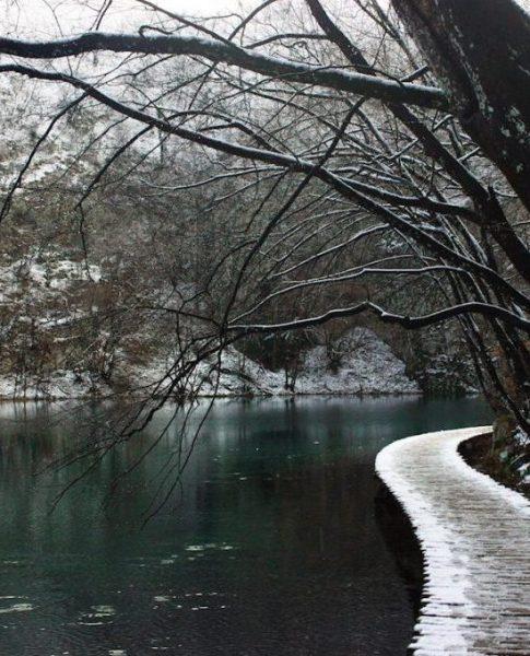 Yine kışı bekleriz: Plitvice Milli Parkı