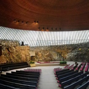 Temppeliaukio Church (Church in the Rock)