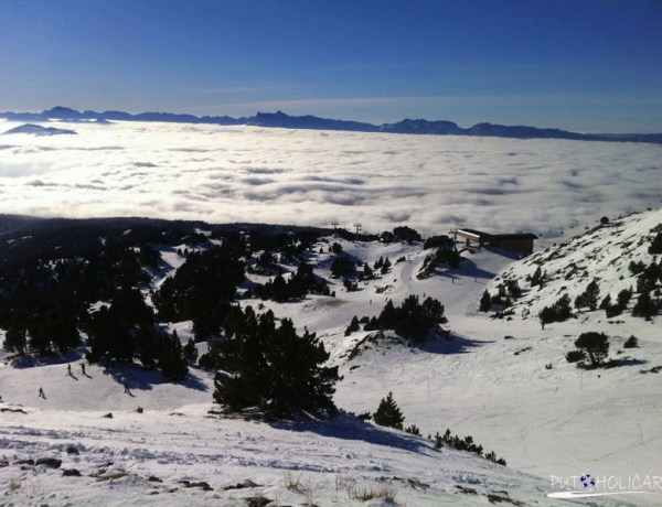 Francuska: skijalište Chamrousse