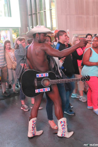 New York - Naked Cowboy