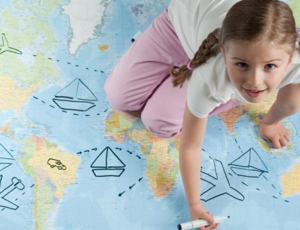 Putujte s djecom, zbog toga će biti bolja u školi