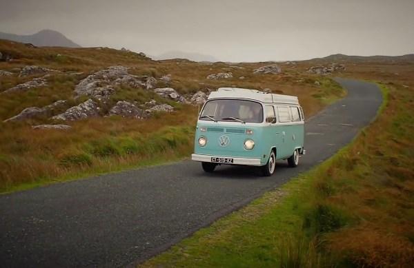Road trip po Irskoj u starom kombiju