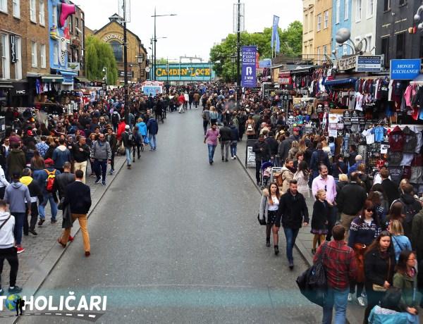 London – vodič kroz markete