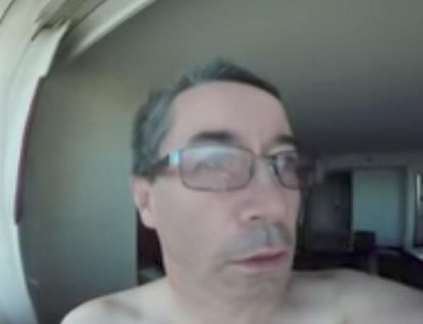 Tata koji je cijelo putovanje snimao sebe jer je krivo okrenuo kameru