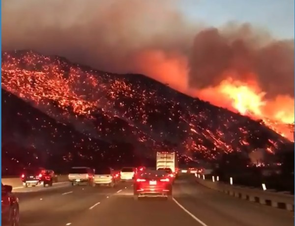 Veliki požar kod Los Angelesa