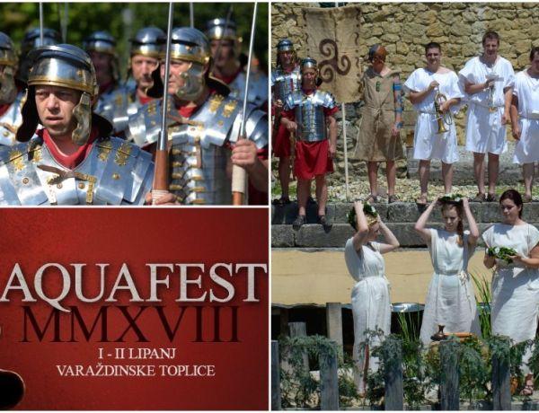 DUH ANTIKE: Legionari, gladijatori, nimfe na 11. Aquafestu u V. Toplicama