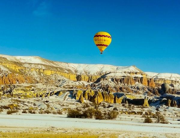 Kapadokija zimi