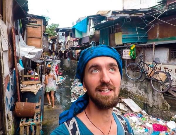 Manila – spavanje u slumu
