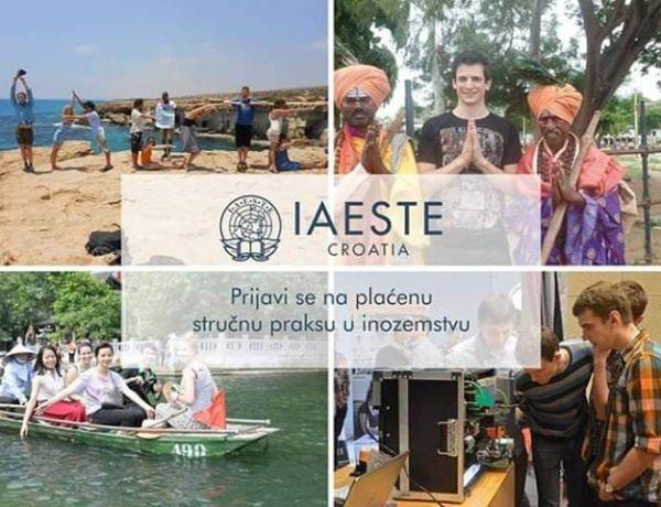 ZA STUDENTE – Prijavi se za plaćenu stručnu praksu u inozemstvu