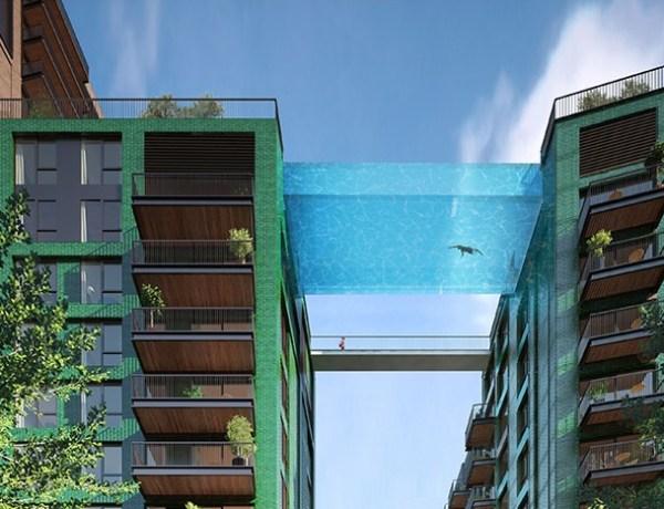 """Prvi """"nebeski bazen"""" na svijetu otvoren je u Londonu"""
