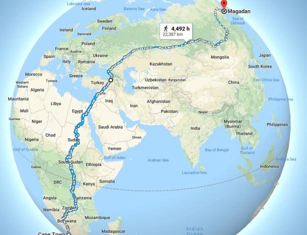 Najduža pješačka ruta na svijetu