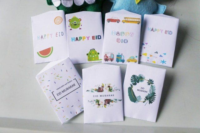Free Printable: DIY AMPLOP LEBARAN Zuper Cute!!
