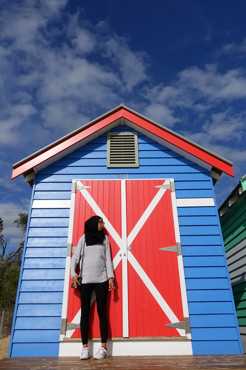 Brighton Beach, The Most Popular Colorful Beach Boxes
