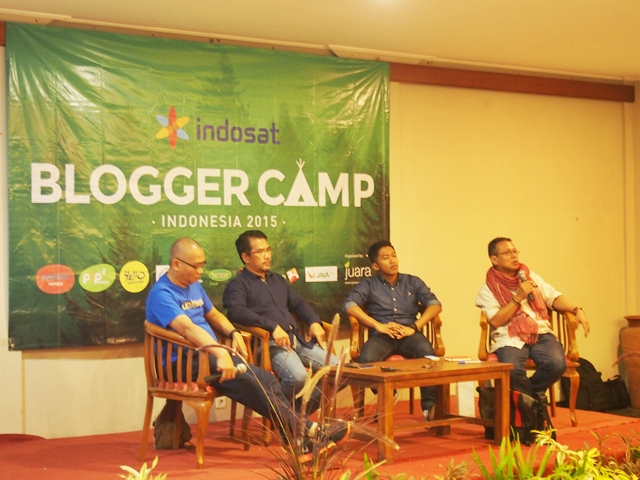 Jumpa Blogger-blogger Hits Tanah Air di Blogger Camp 2015