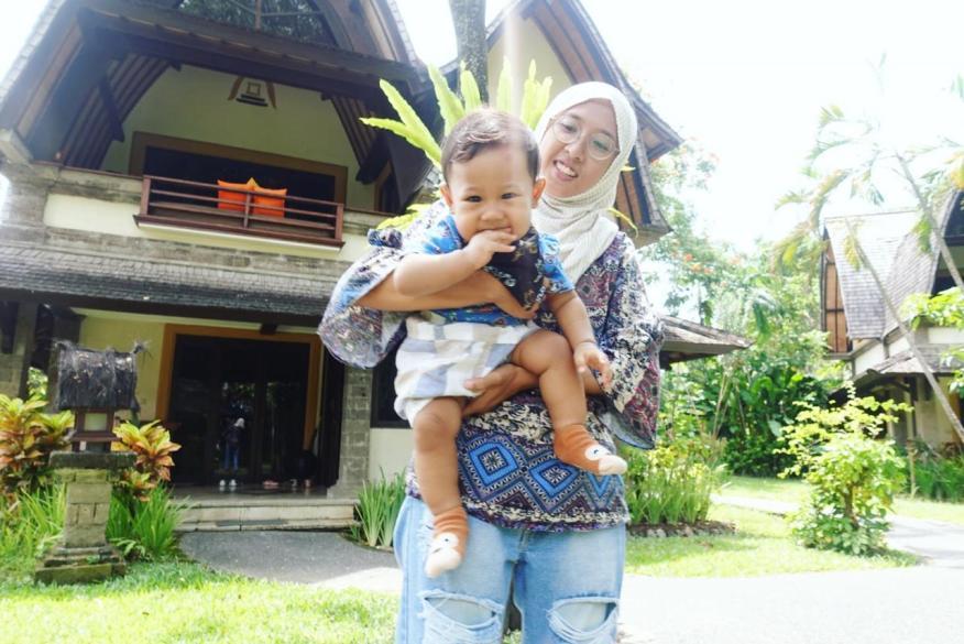 Staycation Hangat Bersama Caraka di Hotel Vila Lumbung, Bali