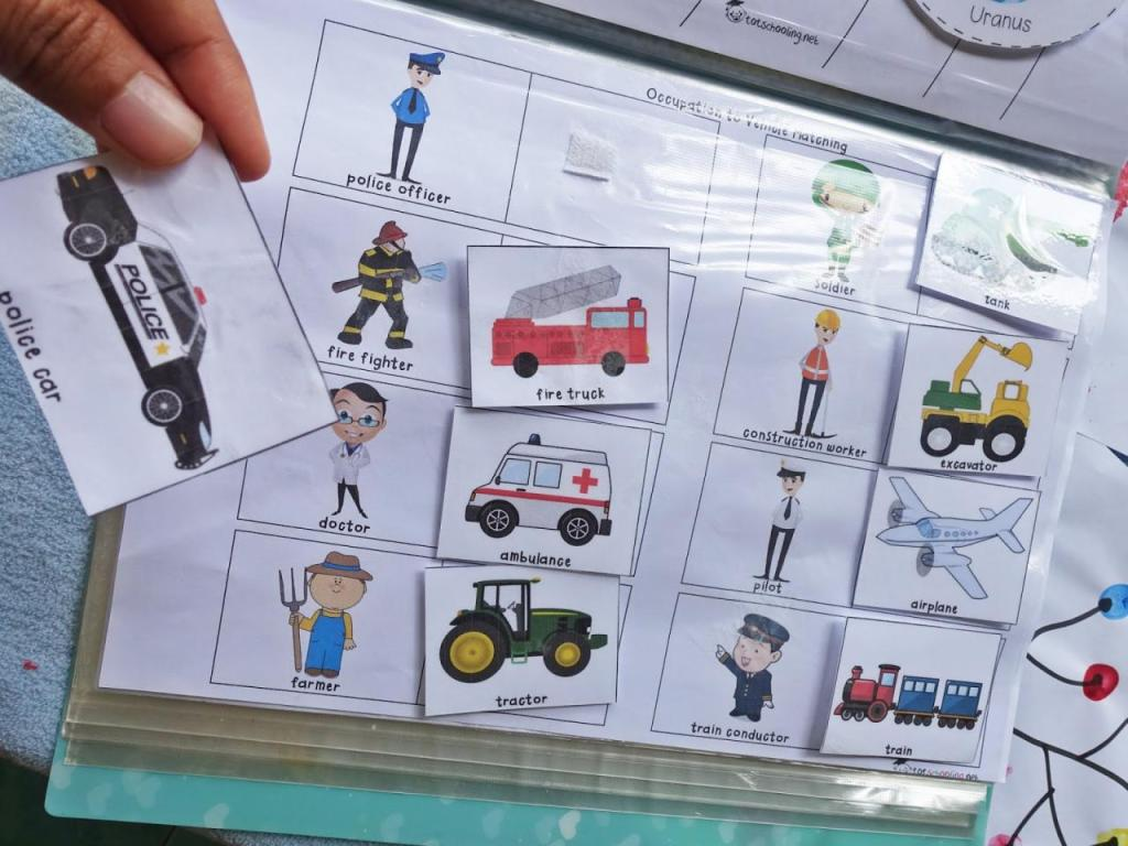 DIY Caraka's Learning Folder