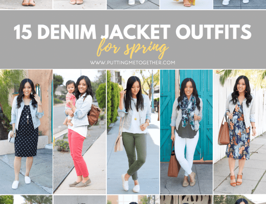 15 Denim Jacket Outfit Ideas for Spring