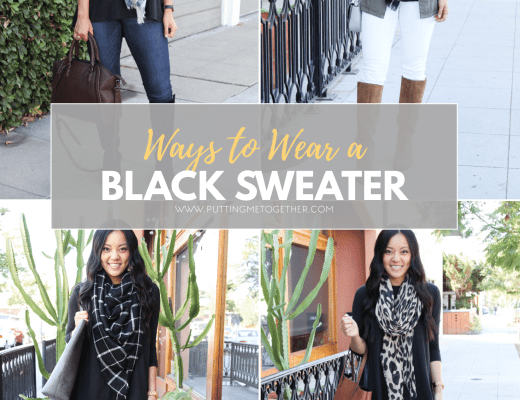 Outfits With a Black Sweater or Black Butter Top