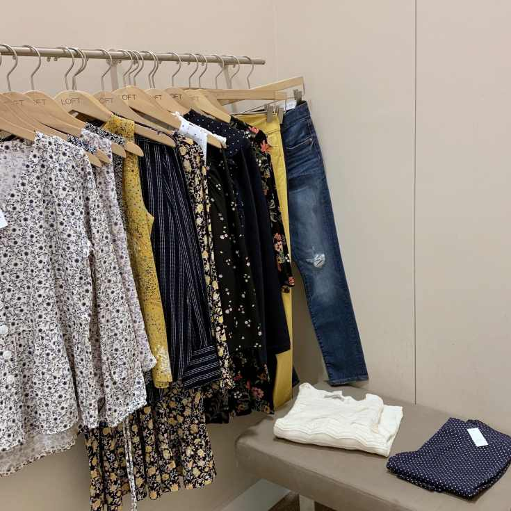 LOFT Try On for Casual and Workwear