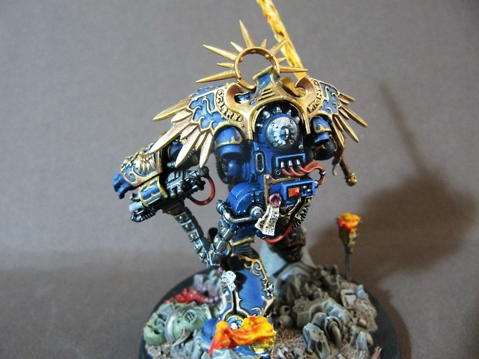 Roboute Guilliman By MIke Poole PuttyampPaint