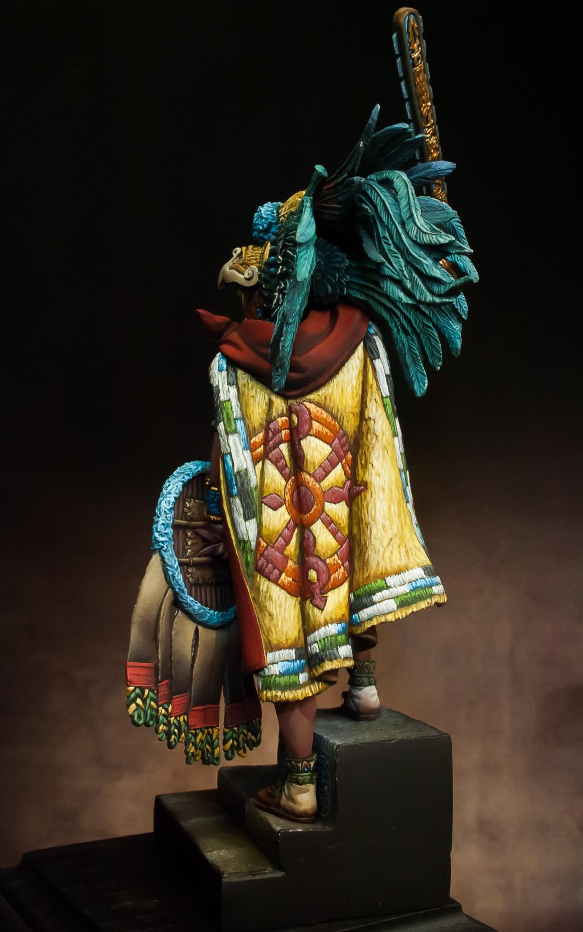 Montezuma Aztec Emperor By Alessandro PuttyampPaint
