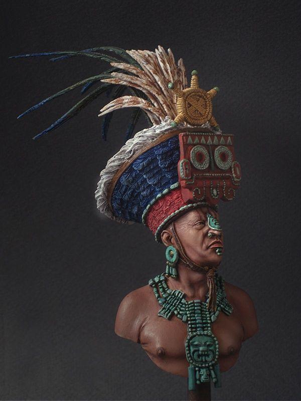 Mayan Priest By Konstantin Kapitonov 183 Putty Amp Paint