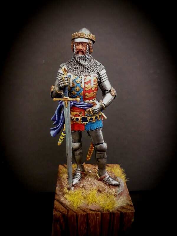 Black Prince Andrea Miniatures 90mm By Scareglow PuttyampPaint