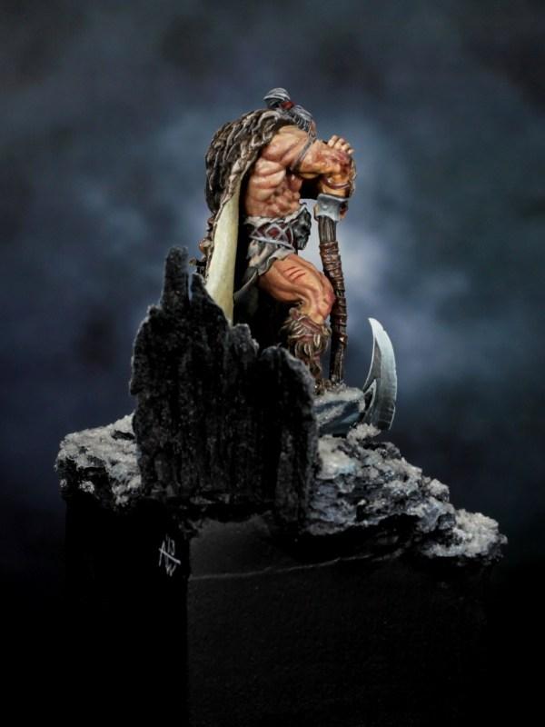 Druss the Legend / Deathwalker by Arne Wilkens · Putty&Paint