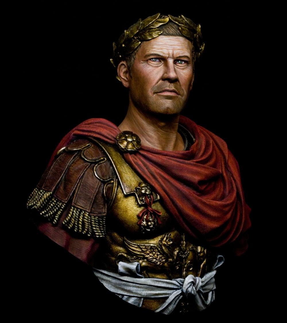 Gaius Julius Caesar By Jason Zhou PuttyampPaint