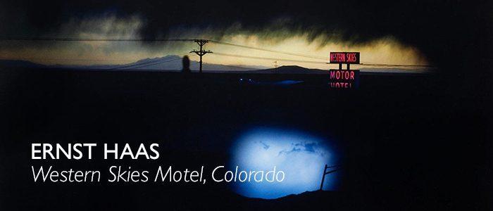 Ernst Haas Western Skies motel