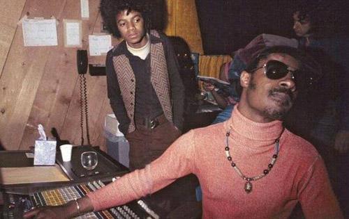 Michael Jackson e Stevie Wonder