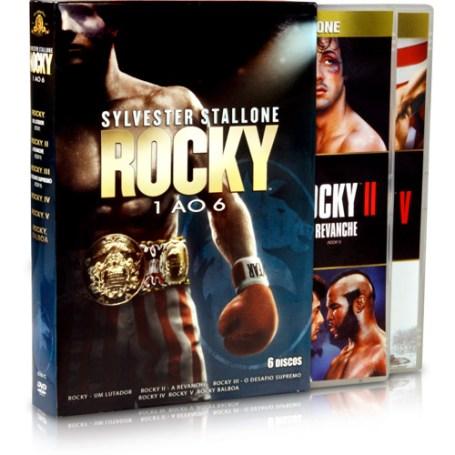 Box DVD Rocky