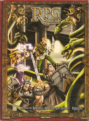 RPG quest capa