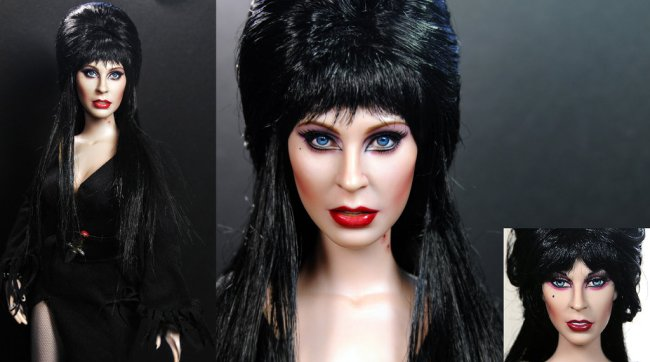 cassandra_peterson_aka_elvira_custom_doll_repaint_by_noeling-d5tbesh