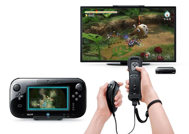 Nintendo Wii U com pikmin