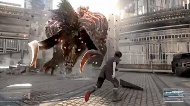 Final Fantasy XV trailer e3