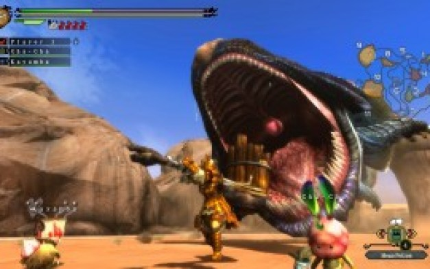 monster hunter gameplay 2
