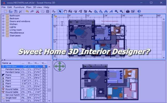 Sweet Home 3D Interior Designer