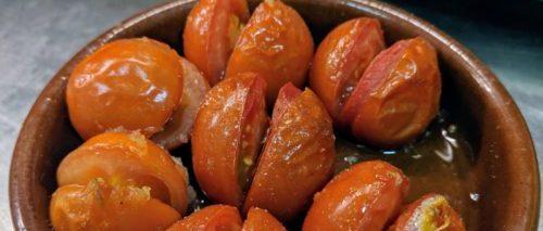 Tomatendressing van verse tomaat