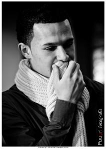 zwart wit portret puuur fotografie